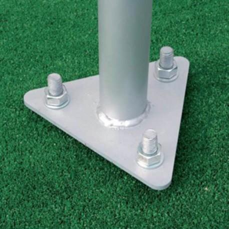 Mástil de aluminio 1 a 6m abatible