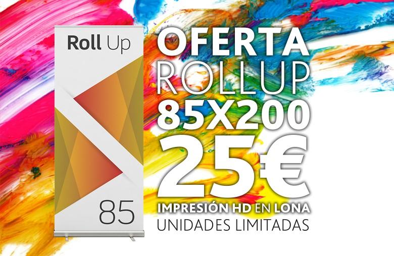 Oferta Roll Up 25€