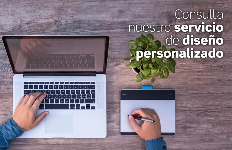 Servicio diseño personalizado