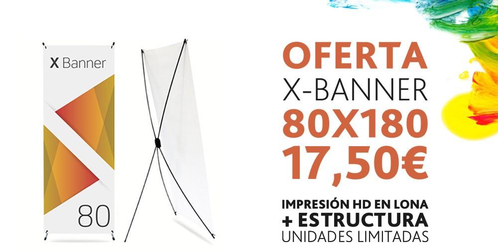 Oferta X-Banner 17,50€